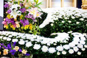 祭壇の生花